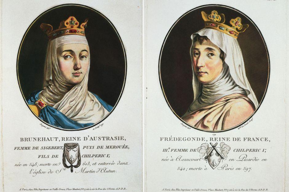 Brunehaut versus Frédégonde, la guerre des reines