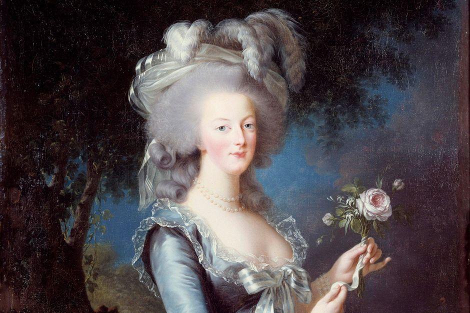 """Le portrait de """"Marie-Antoinette à la rose"""" fut peint pour étouffer un scandale"""