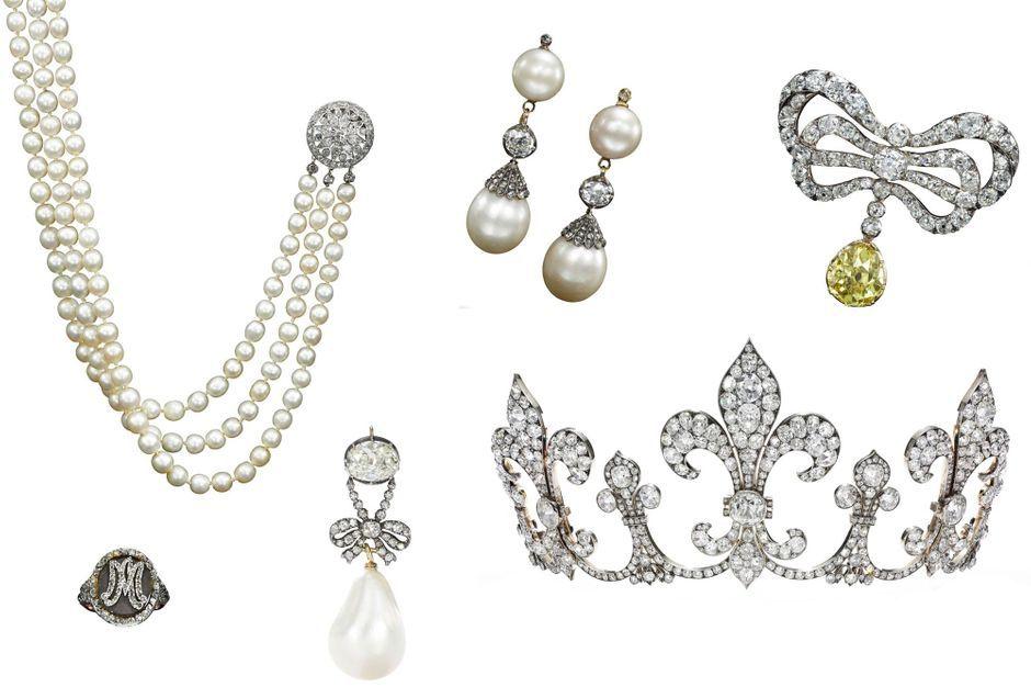 254ded5cc4d130 Les plus beaux bijoux de Marie-Antoinette mis aux enchères par Sotheby's