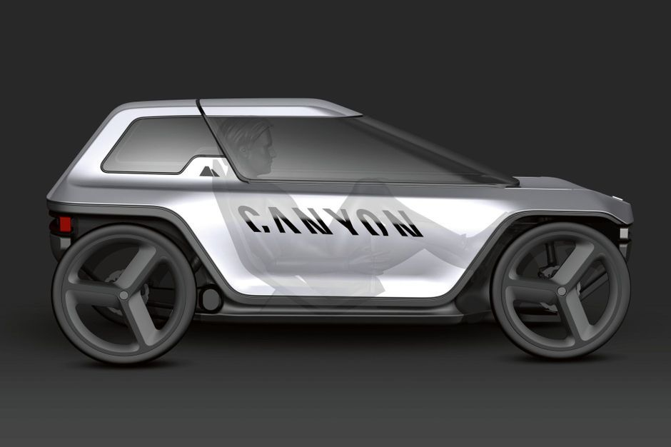Canyon Future Mobility Concept : vive la voiture à pédales