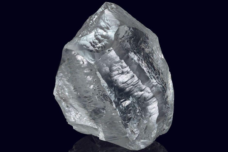 Voici le Sethunya, un diamant brut extra-pur de 549 carats