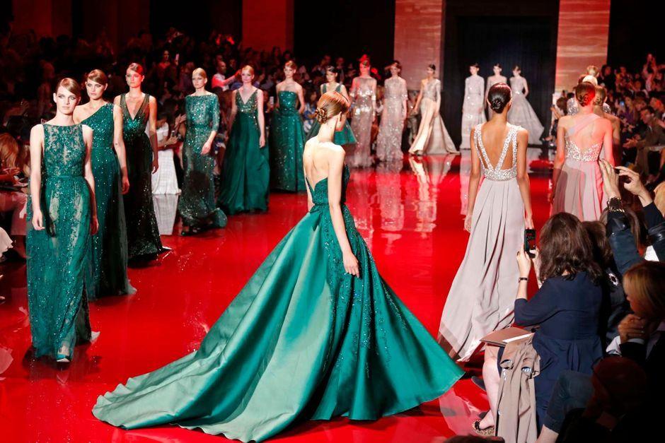 Haute Couture Les Reines De Beaute D Elie Saab
