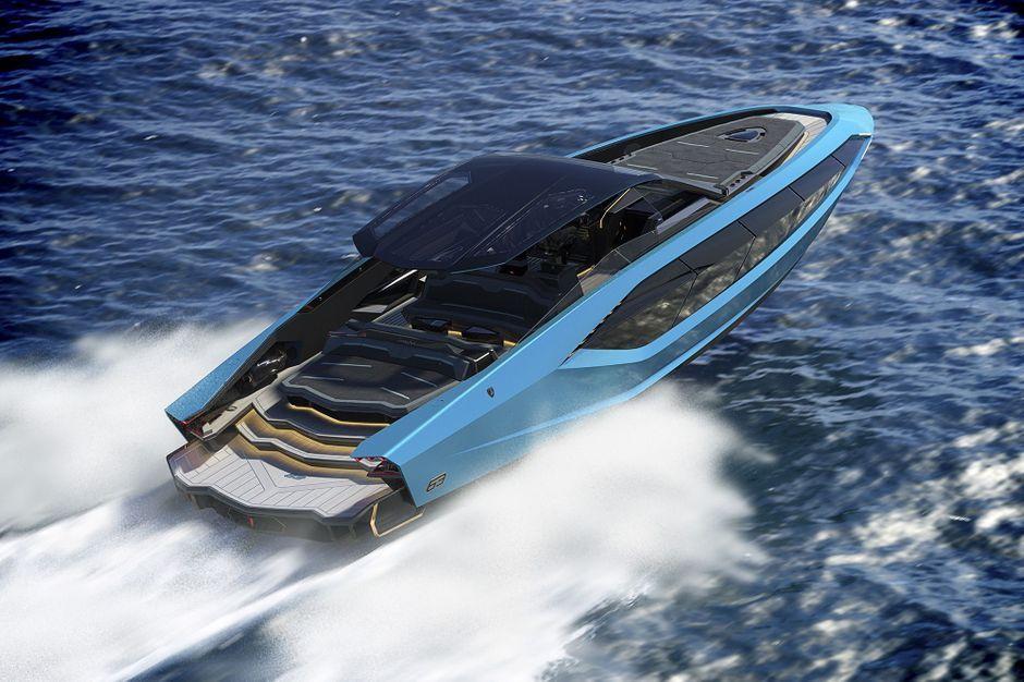Lamborghini dévoile son premier yacht à 3 millions d'euros