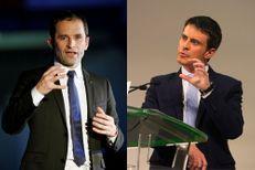 """Hamon-Valls, le choc des programmes """"irréconciliables"""""""