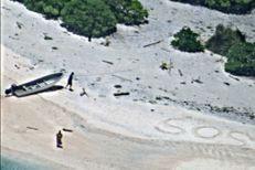 Perdus sur une île déserte, ils lancent un SOS