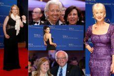 Acteurs, mannequins et dirigeants réunis à Washington