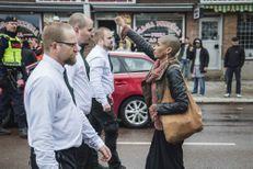 En Suède, le poing levé face aux néo-nazis