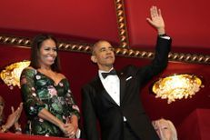 Standing ovation pour les Obama aux Kennedy Center Honors