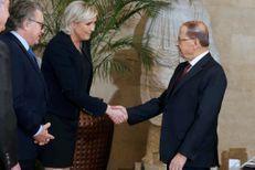 Au Liban, Le Pen veut gagner en crédibilité à l'international