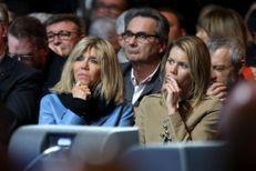 Brigitte Macron et sa fille Tiphaine Auzière en première ligne