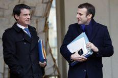 """""""On ne peut pas déserter"""" dit Valls après la démission de Macron"""