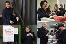 Primaire de la gauche : les candidats aux urnes