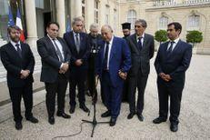 Prêtre assassiné : les responsables religieux reçus à l'Elysée