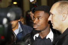 Le défenseur du PSG Serge Aurier devant la justice