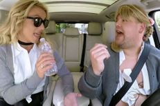 Britney Spears en play-back dans la voiture de James Corden