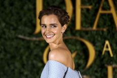 Emma Watson : la fleur de Londres