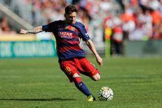 Lionel Messi investit à Paris