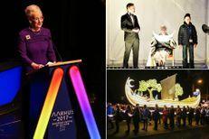 "Margrethe II a lancé ""Aarhus capitale européenne de la culture 2017"""