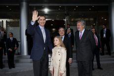 La princesse Sofia assiste à la victoire du Real Madrid