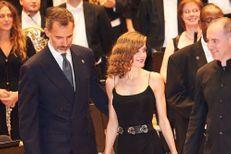 Letizia plus glamour que jamais pour représenter sa fille