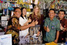Maxima en immersion en Indonésie