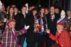 Stéphanie et sa famille ouvrent le Festival du Cirque