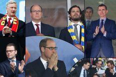 Euro 2016: quand rois et princes sont en tribunes