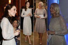 Quand Kate et Mette-Marit portent la même robe