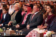 Rania en famille pour fêter l'Indépendance de son pays