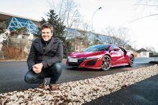 Honda NSX et Hervé Mathoux: un effet foot