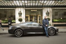 Le chef Eric Fréchon s'imagine en Aston Martin