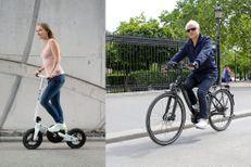 Le Piaggio Wi-Bike et le Micro Pedalflow, deux façons de pédaler dans le bon sens