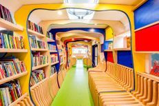 """Russ the bus"", le bus scolaire qui donne envie de lire"